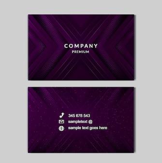 Luxe lichte zakenkaart