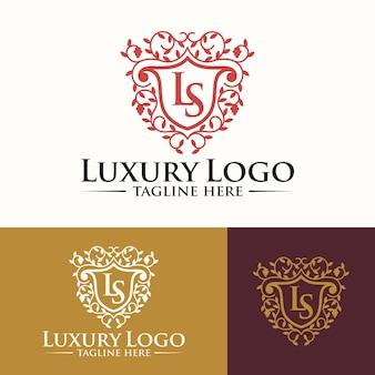 Luxe logo sjablonen