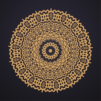 Luxe mandala afbeelding ontwerp