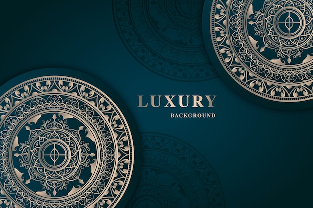 Luxe mandala behang