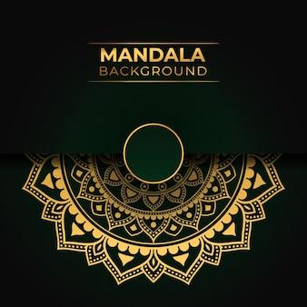 Luxe mandala islamitisch ontwerp