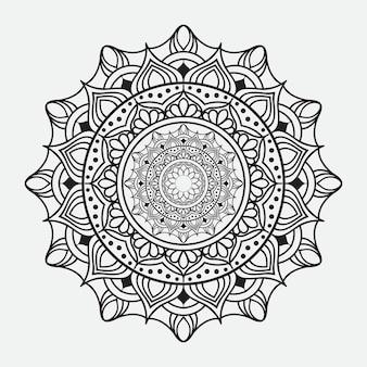 Luxe mandala-ontwerp
