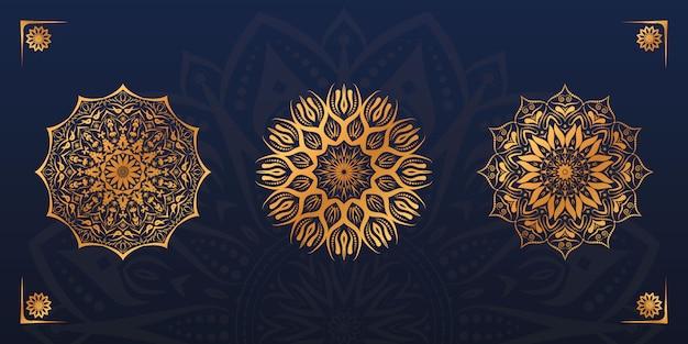 Luxe mandala ontwerpset