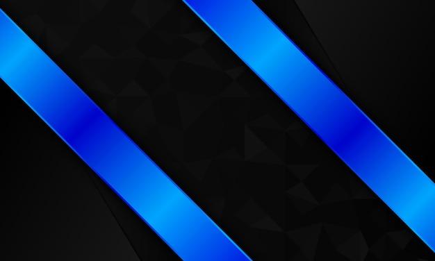 Luxe metaalblauw op donkere mozaïekachtergrond. ontwerp voor advertenties, folders.