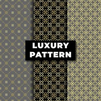 Luxe naadloos patroonontwerp