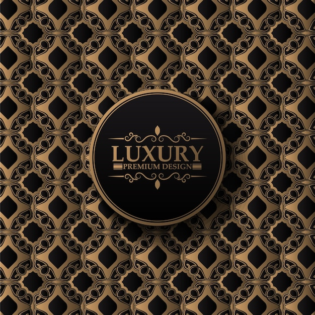 Luxe naadloze patroon decoratieve vintage stijl