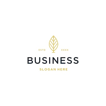 Luxe onroerend goed logo