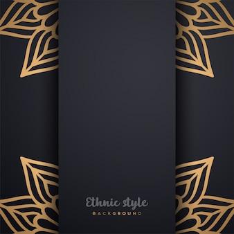Luxe ontwerp in arabische stijl
