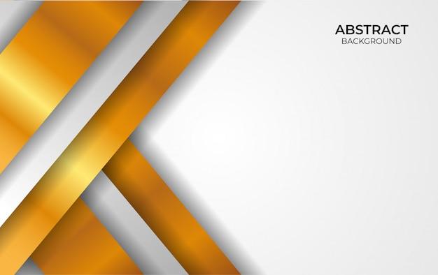 Luxe ontwerpstijl wit en goud