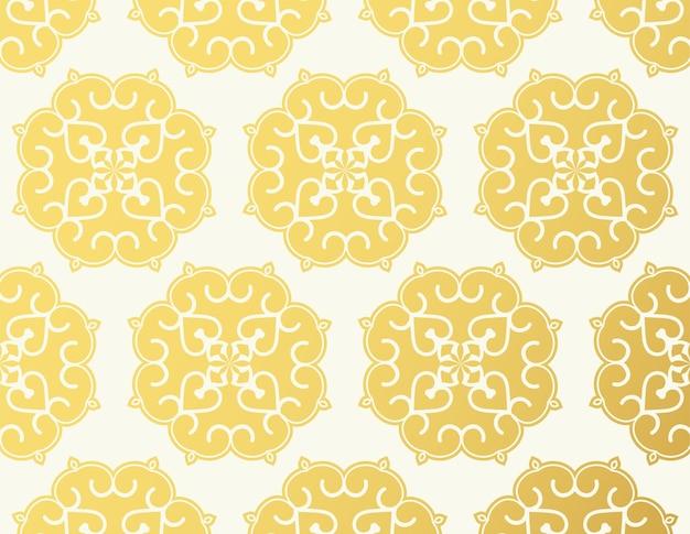 Luxe ornament patroon ontwerp achtergrond