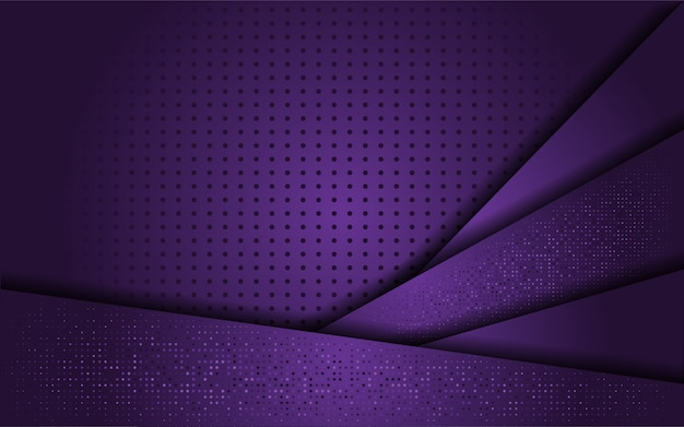 Luxe paarse achtergrond met lijn goud