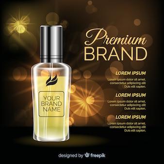 Luxe parfum advertentie
