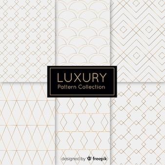 Luxe patroon collectie achtergrond