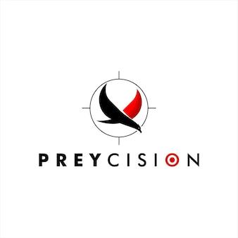 Luxe prey bird precisie-logo