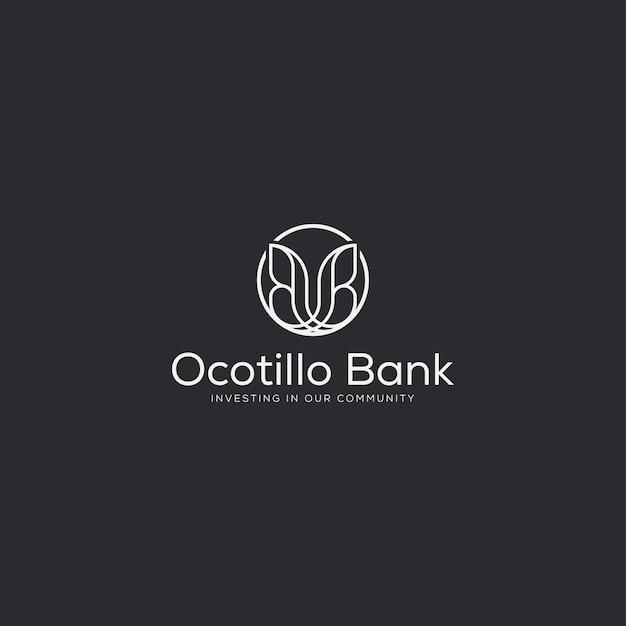 Luxe professioneel logo vlinder
