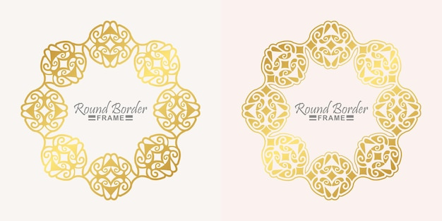 Luxe rond frame ontwerp