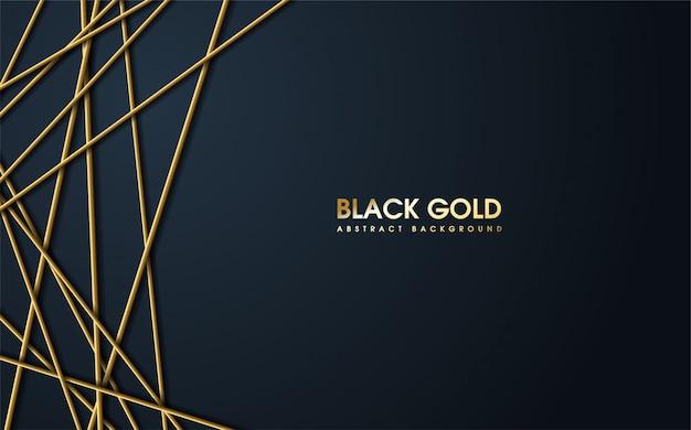 Luxe s van 3d gouden strepen.