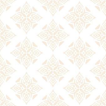 Luxe sier mandala ontwerp naadloze patroon in gouden kleur