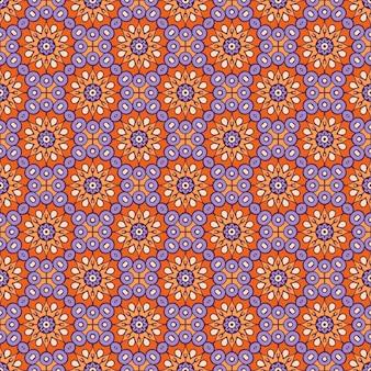 Luxe sier mandala patroon