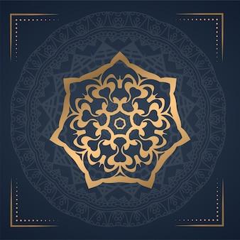 Luxe sieraad mandala achtergrond