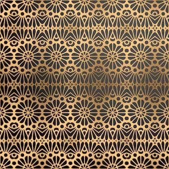 Luxe sierachtergrond in gouden kleur