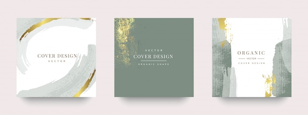 Luxe sociaal verhaal en postcover ontwerp