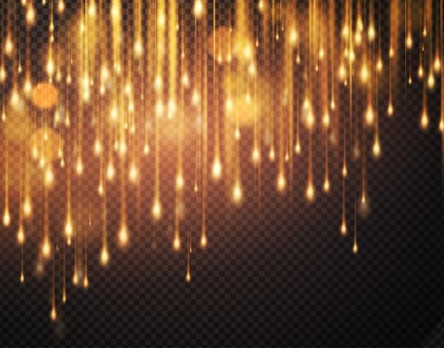 Luxe sprankelende achtergrond met glinsterende glitters. motion bokeh achtergrond wazig.