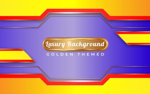 Luxe stijl achtergrond met gouden stijl speciaal gelukkig nieuwjaar
