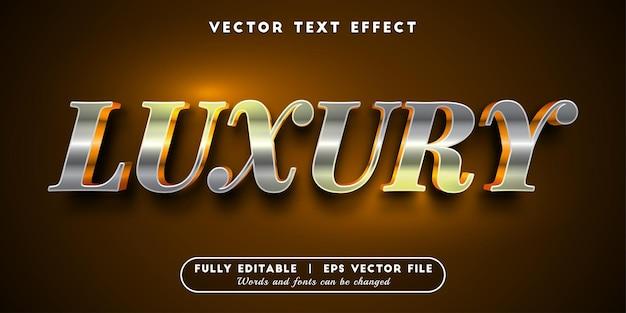 Luxe teksteffect met bewerkbare tekststijl