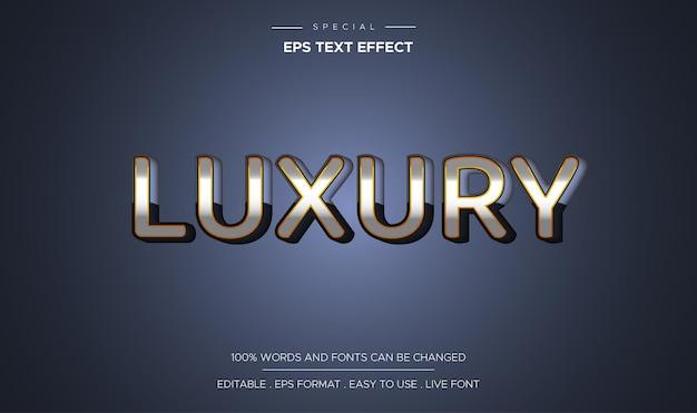 Luxe teksteffect