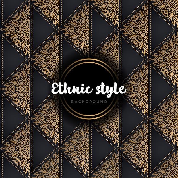 Luxe vector naadloos patroon