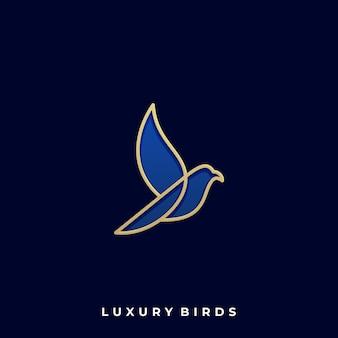 Luxe vogel illustratie