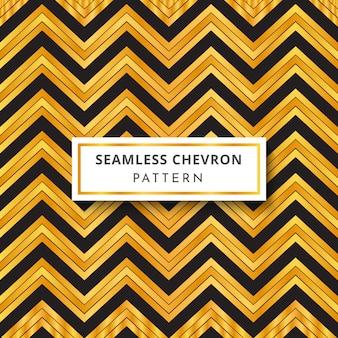 Luxe zwart en goudkleurig zigzagpatroon