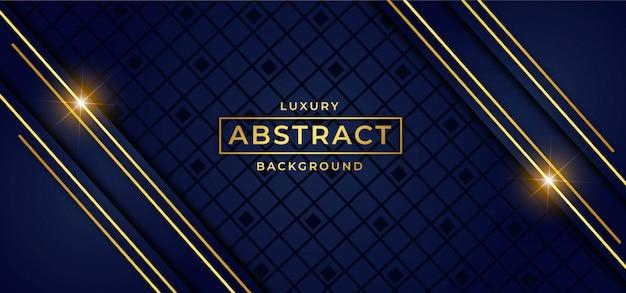 Luxeachtergrond met gouden vector