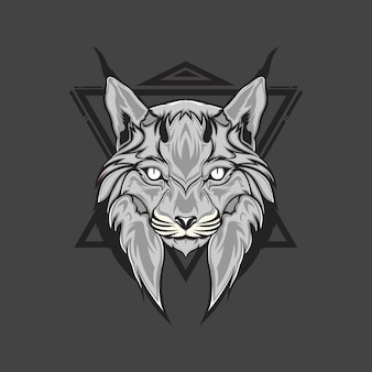Lynx hoofd
