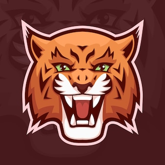 Lynx mascotte logo