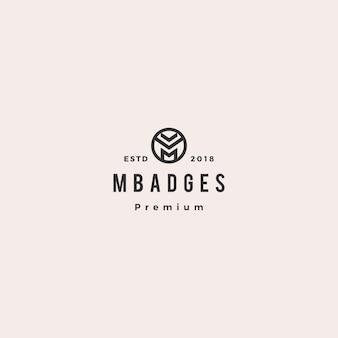 M letter logo vectorillustratie pictogram