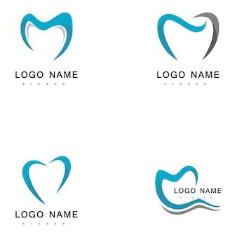 M tandheelkundige logo's