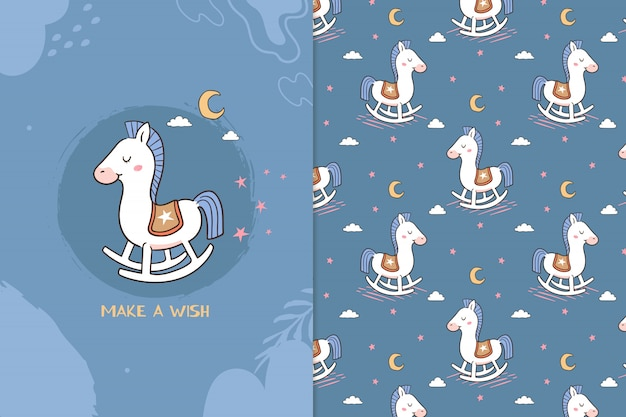 Maak een wenspaardpatroon