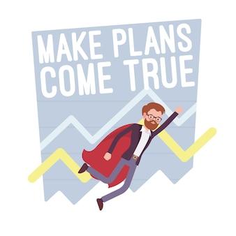Maak plannen waar