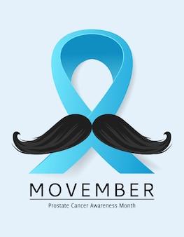 Maand van de voorlichting van movember prostaatkanker