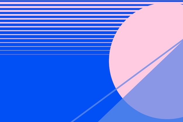 Maanlandschap achtergrond vector in roze en blauw