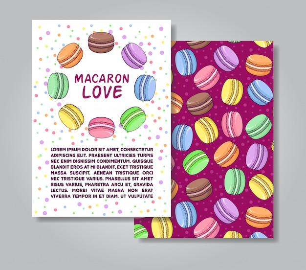 Macaron-cart template