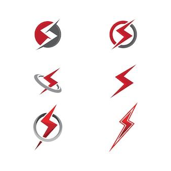 Macht pictogram vector illustratie ontwerp logo sjabloon