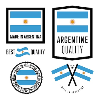 Made in argentina labelset