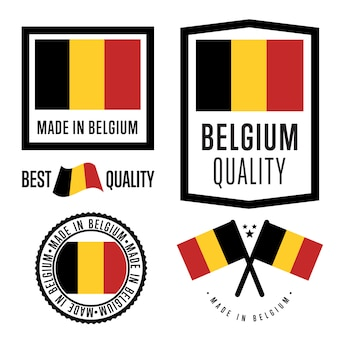 Made in belgium labelset