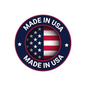 Made in usa logo usa vector logo