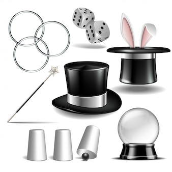 Magician accesoriesset