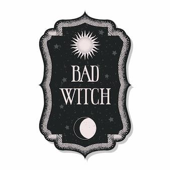 Magisch occult ontwerp
