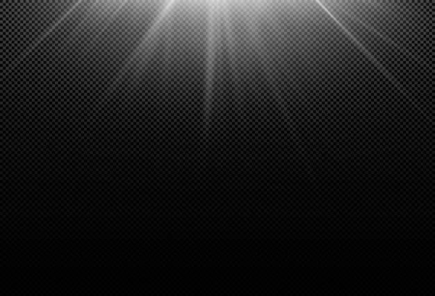 Magisch sprankelend gouden gloedeffect. krachtige energiestroom van lichtenergie.